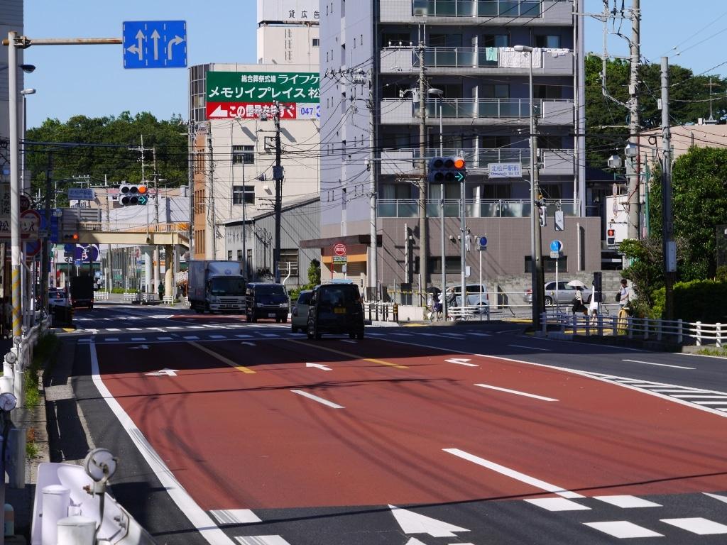 北松戸駅前