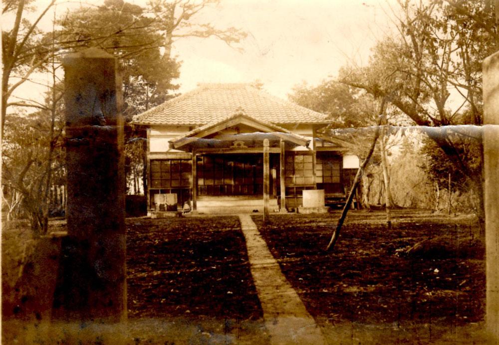 昭和10年代の日蓮宗松戸本覚寺本堂