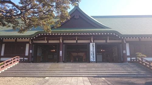 法華経寺本院風景