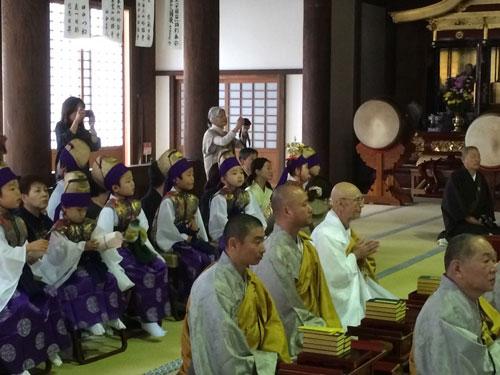 平成26年度法華経寺御会式天童音楽法要1