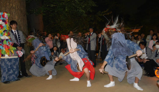 上本郷三匹獅子舞