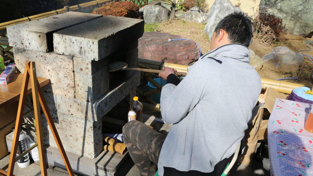 石屋がつくる石窯ピッツア