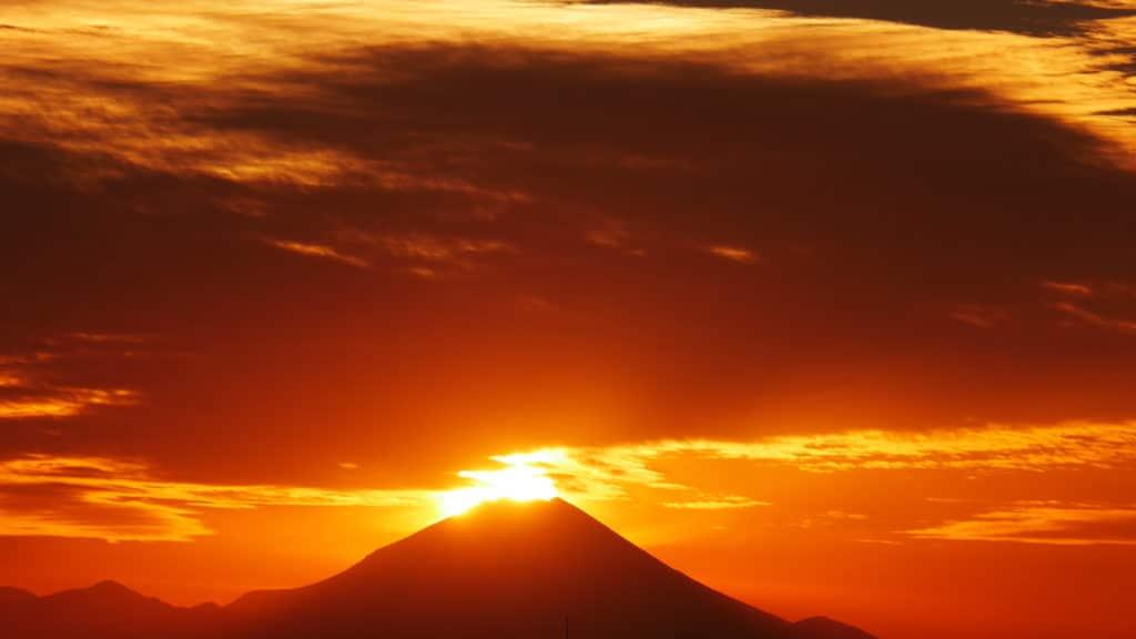 平成28年の富士山