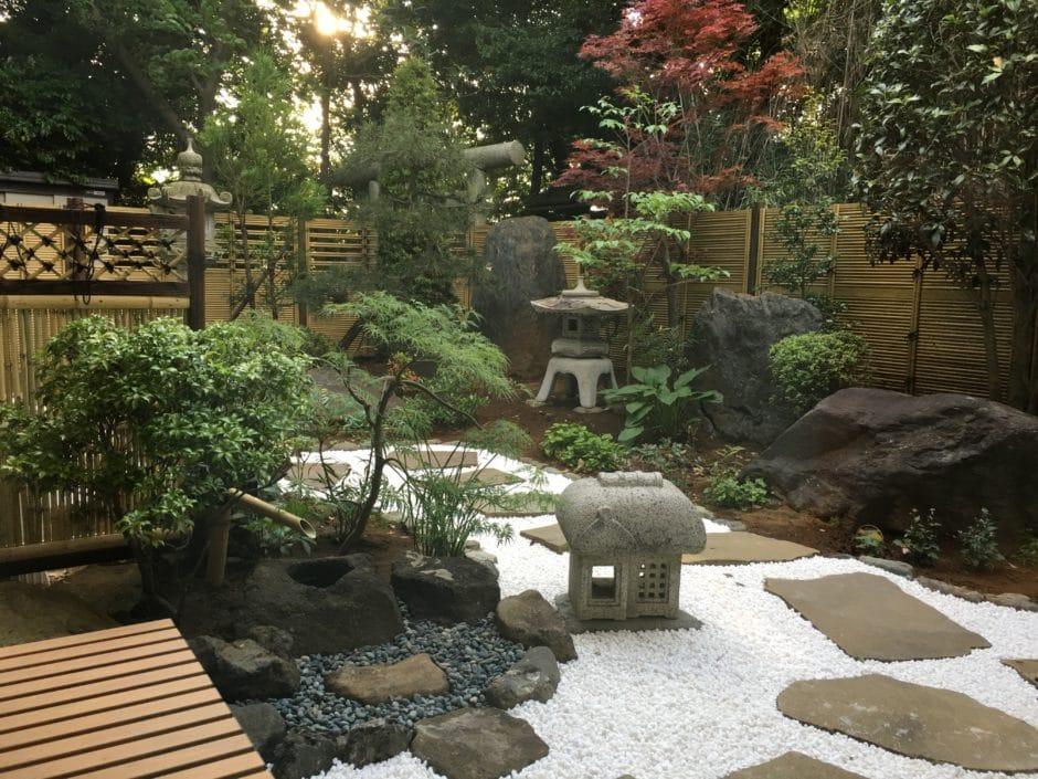 本覚寺中庭の整備