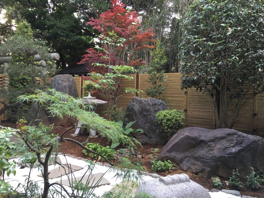 本覚寺の庭