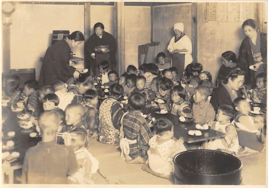 妙倉寺託児所(昭和16年6月)