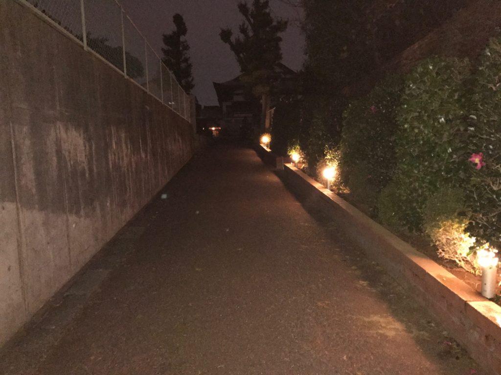 照明の増設