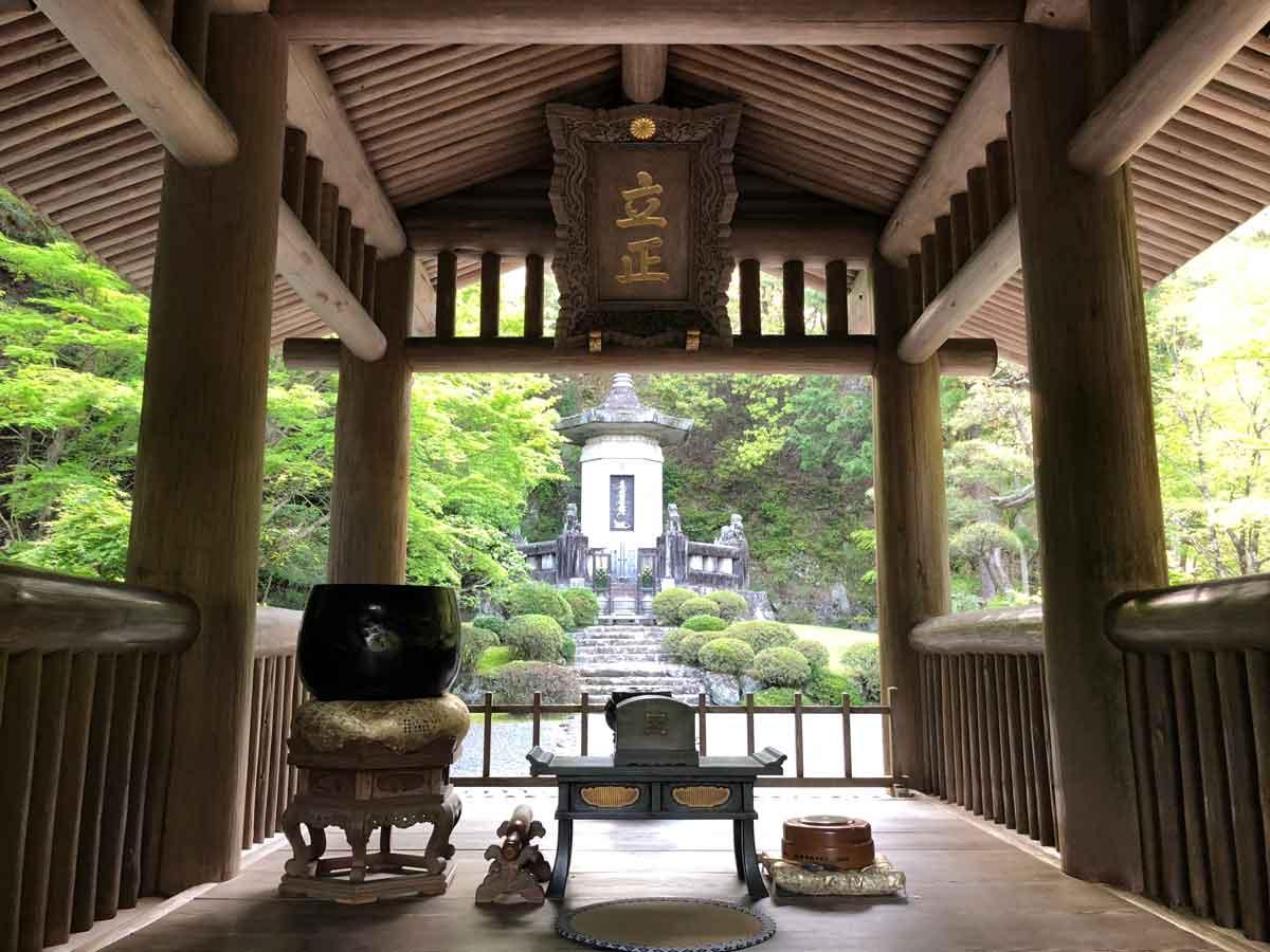 日蓮聖人御廟所