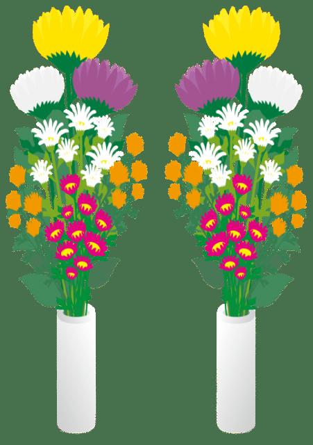 本堂用供花