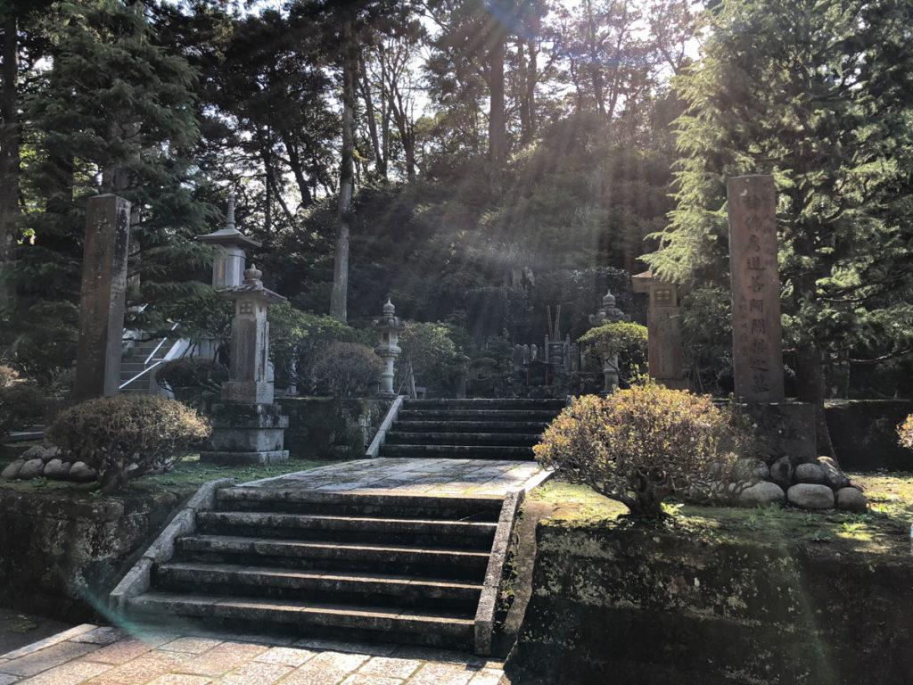 清澄寺・道善房墓所