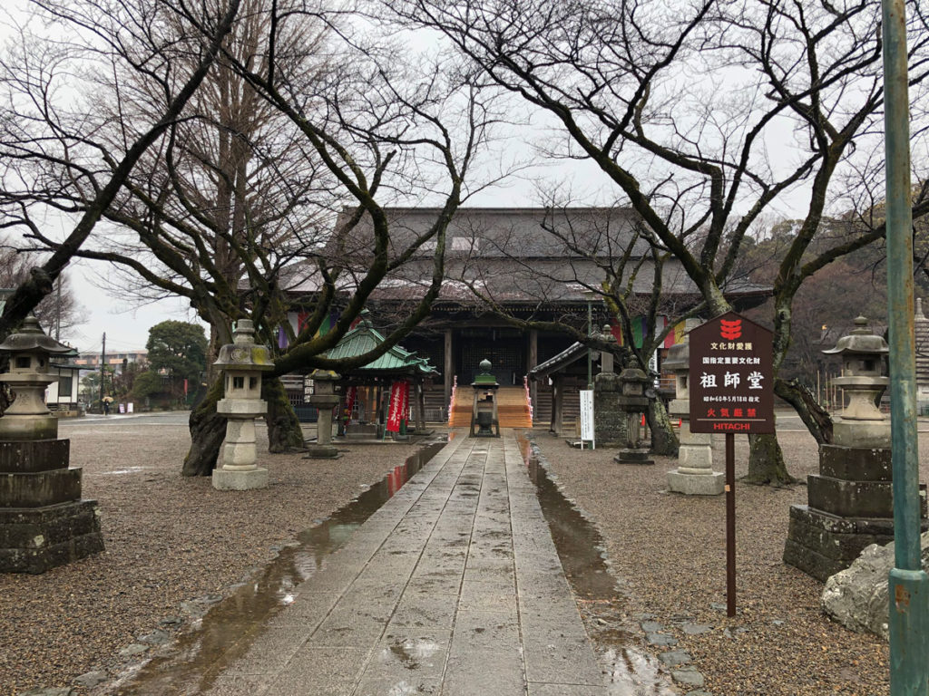 中山法華経寺祖師堂(正面)