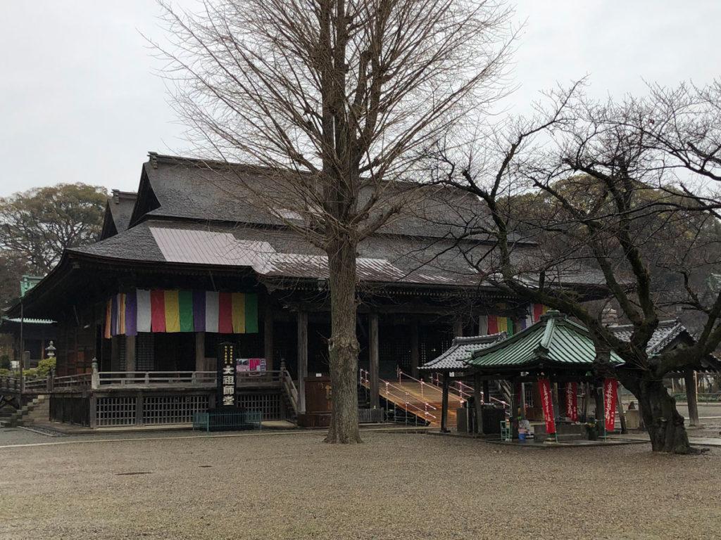 中山法華経寺祖師堂