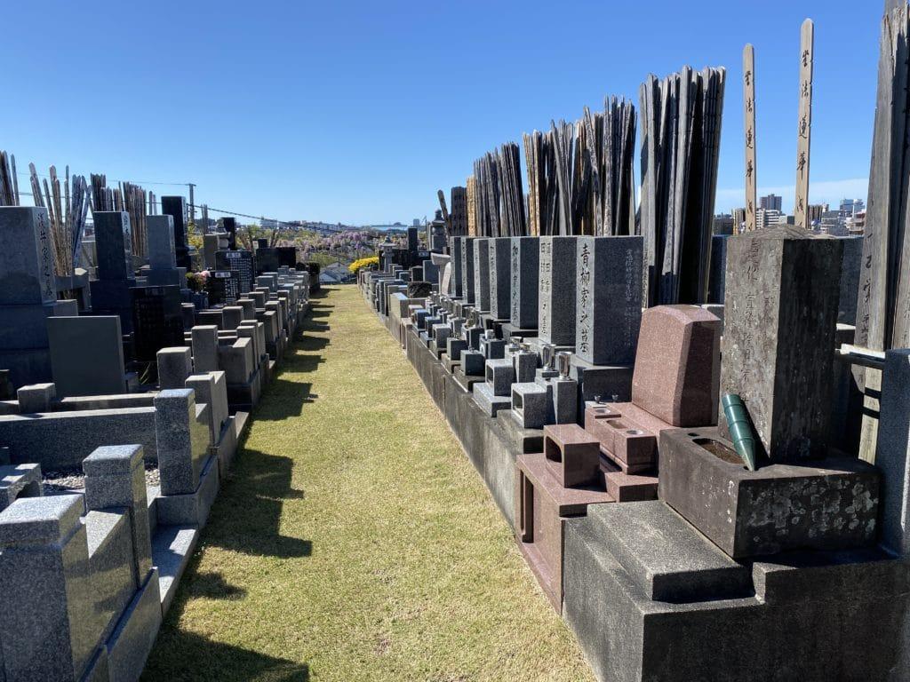 新規完成墓地分譲中