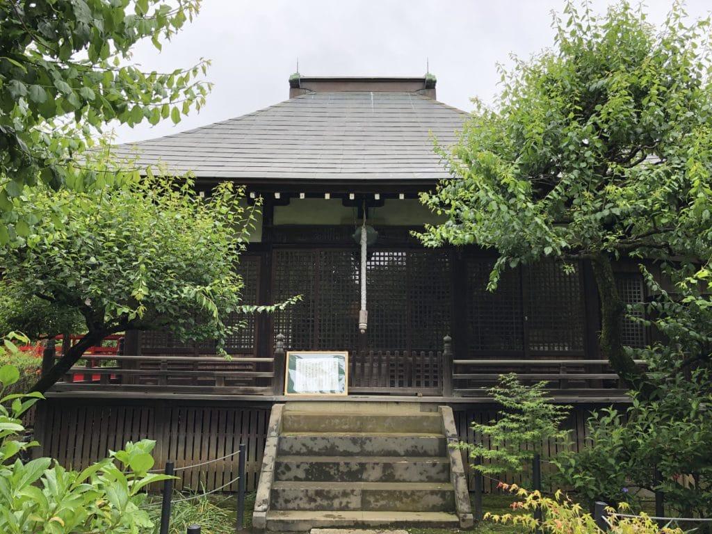 本土寺 妙朗堂