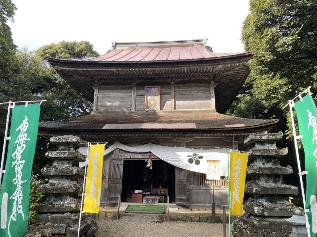 妙成寺内 丈六堂