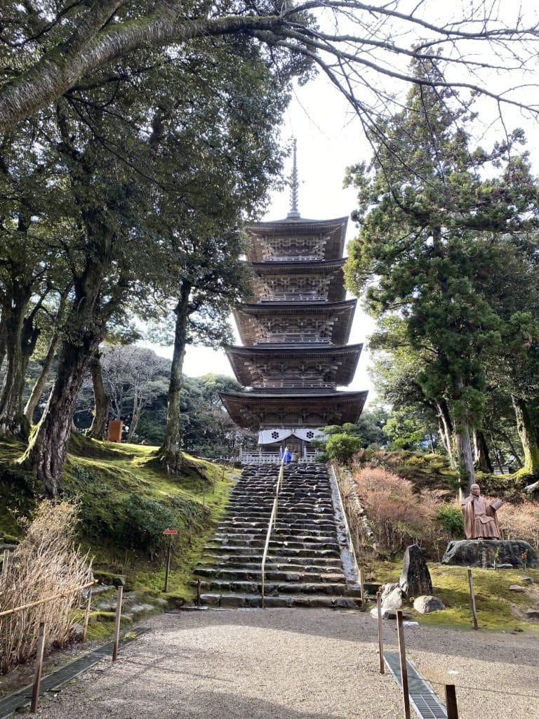 本山妙成寺 五重塔