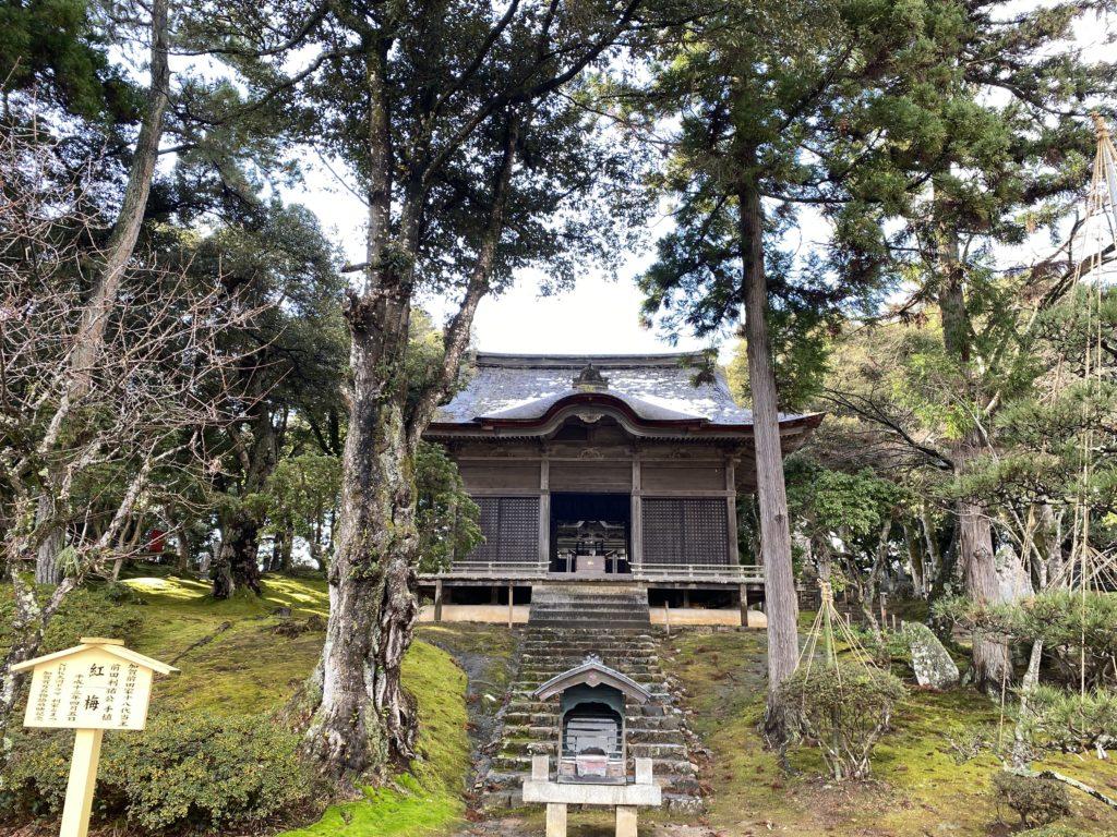妙成寺内 三十番神堂