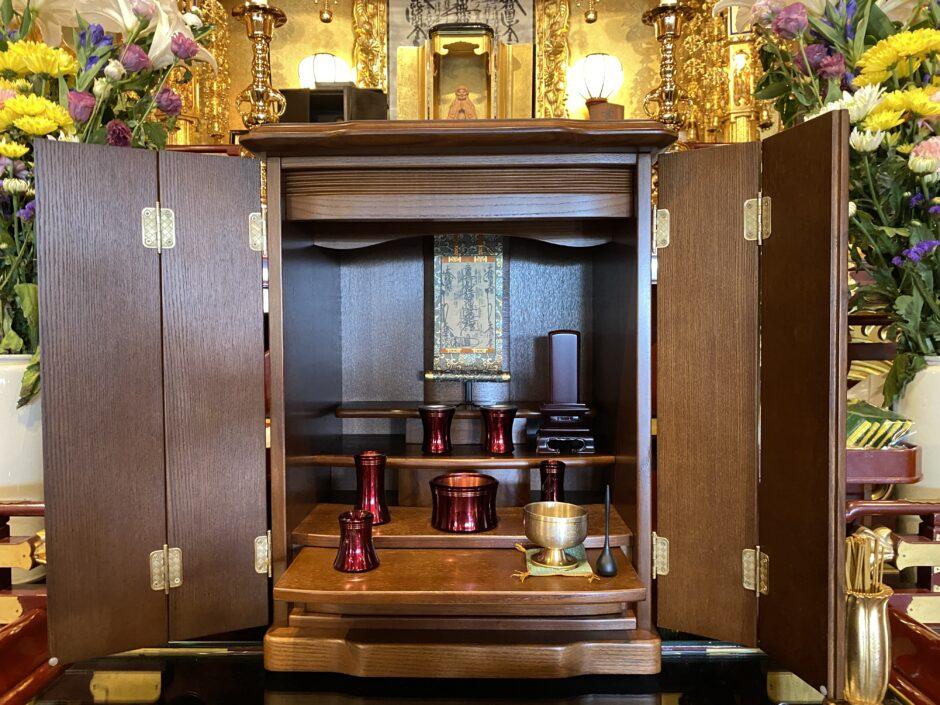 日蓮宗仏壇の飾り方